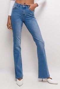 Jeans Flared Blauw lengtemaat 32