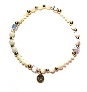 Armband Mother of Pearl Wit