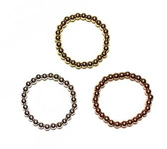 Bolletjes ring 2,5mm