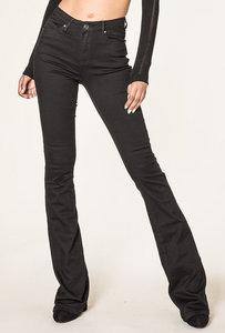 Jeans Flared zwart extra lang lengtemaat 34