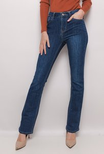 Jeans Flared blauw