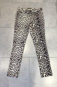 Chino broek Y-Conic Suèdine Leopard Beige