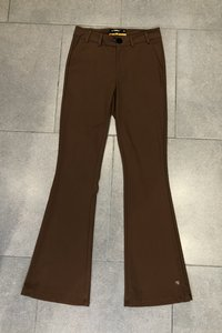 Chino broek Flared Y-Conic Bruin