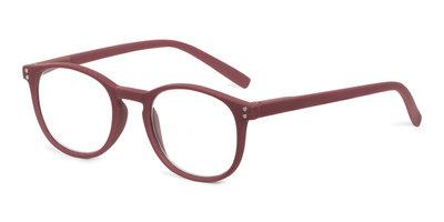 Leesbril Looplabb Dune Burgundy